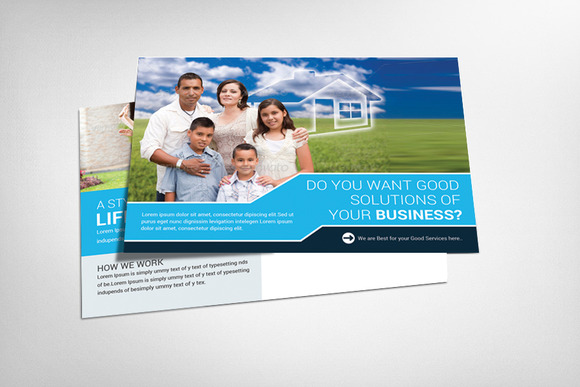 Life Insurance Postcard Template