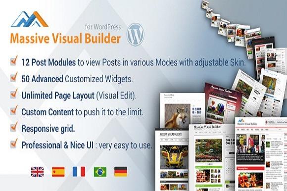 WP Massive Visual Website Builder