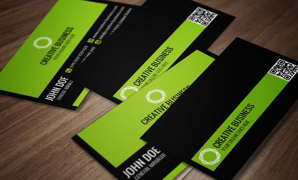Modern Corporate Business Card CM015