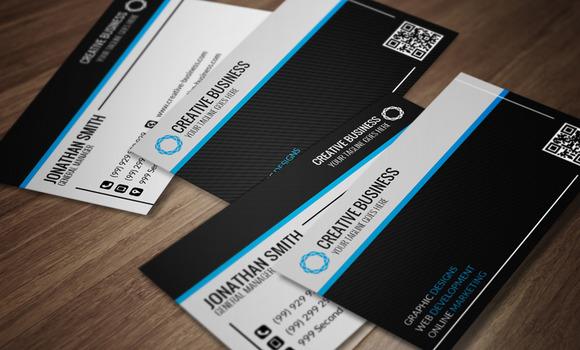 Modern Corporate Business Card CM016