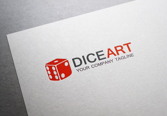 Diceart Logo
