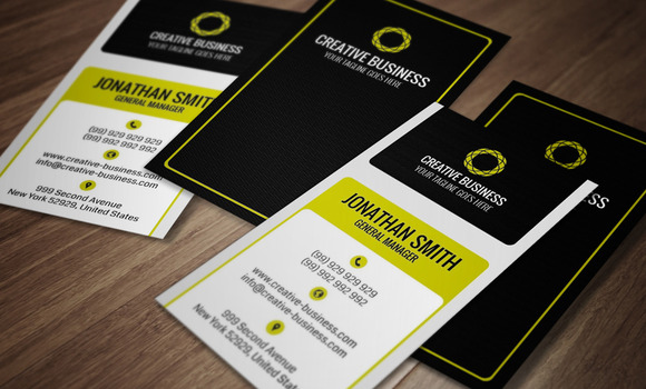 Modern Corporate Business Card CM019