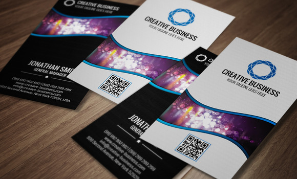 Modern Corporate Business Card CM021