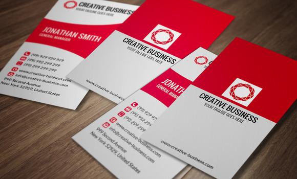 Modern Corporate Business Card CM022