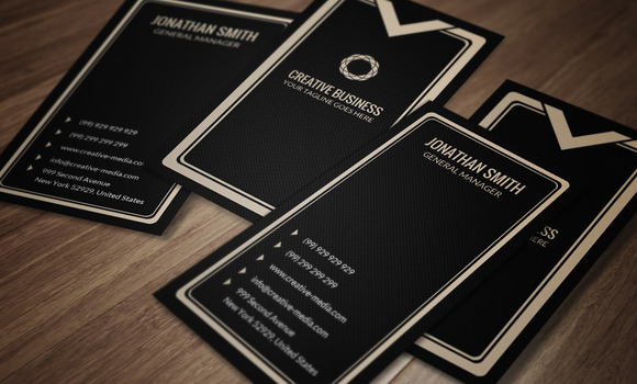 Luxury Business Card CM025