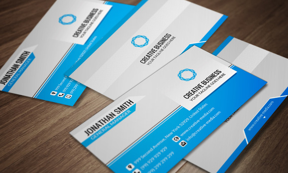 Modern Corporate Business Card CM027