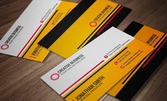 Modern Business Card CM030