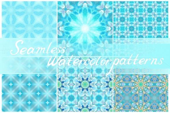 Set Of Seamless Decorative Patterns