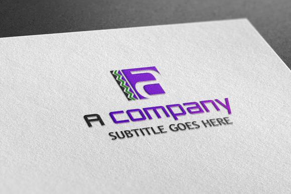 A Company Style Logo