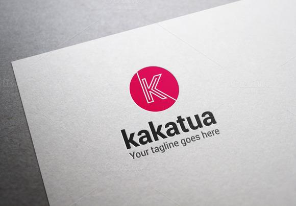 Kakatua Letter K Logo