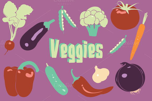 Vegetable Vector Clipart