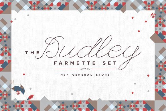 Dudley Farmette Pattern Set Bonus