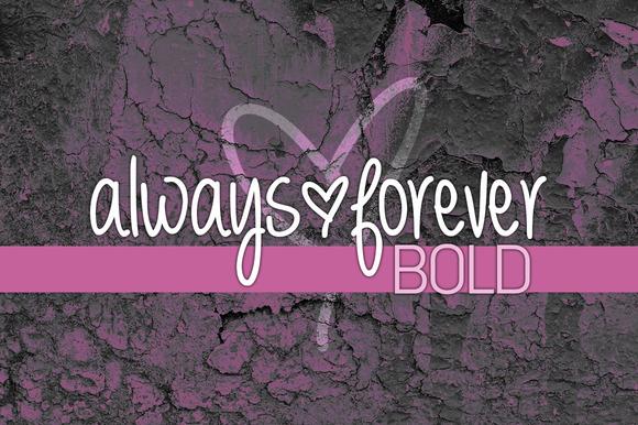 Always Forever Bold