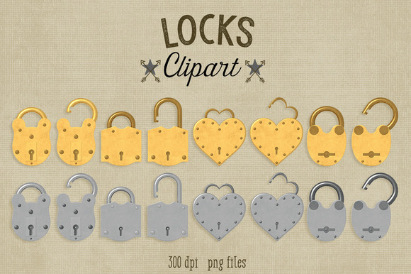Locks Clipart