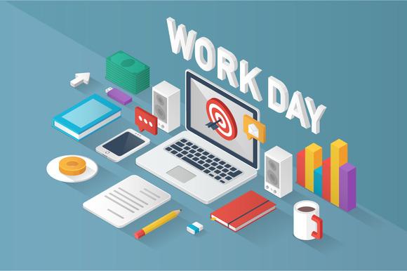 Isometric Work Day