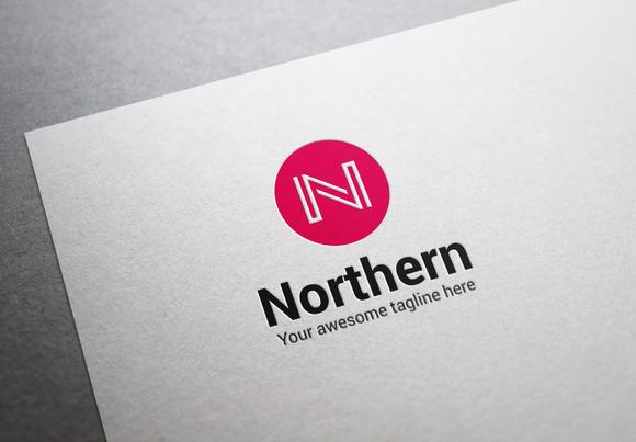 Northern Letter N Logo
