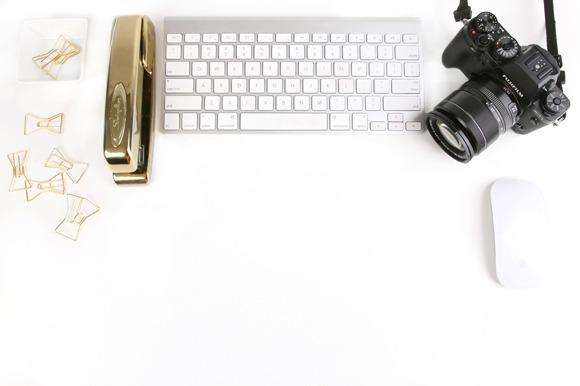 Styled Stock Mac Keyboard Camera