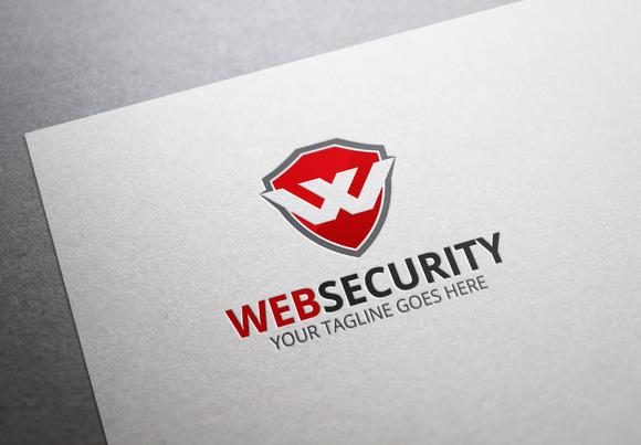 Web Security W Letter Logo