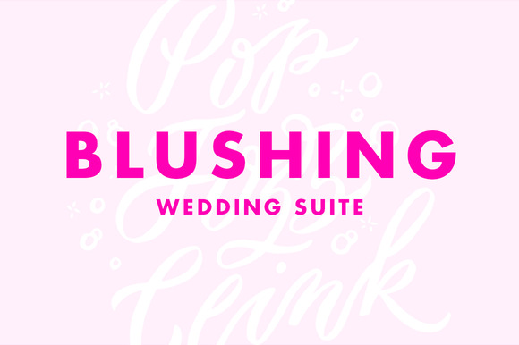 Blushing Wedding Suite
