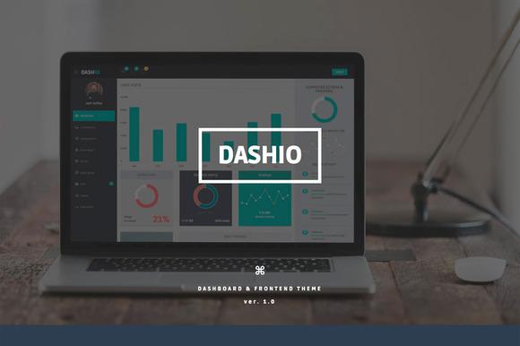 DASHIO Dashboard Frontend Theme