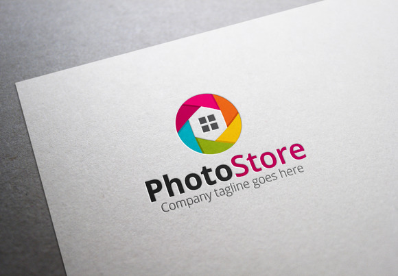 Photo Store Logo
