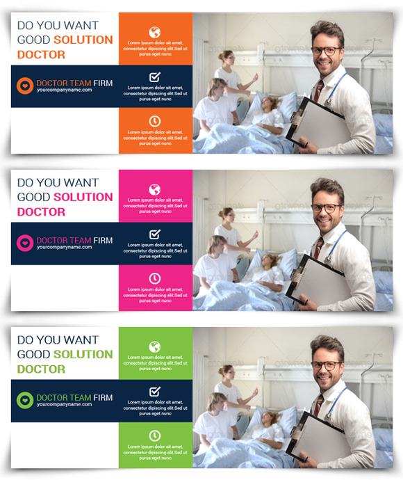 Medical Doctor Facebook Template