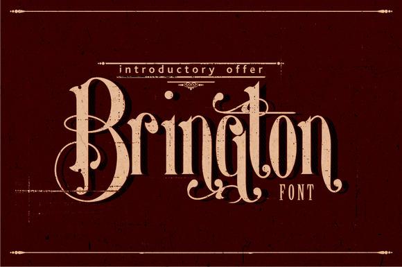Brington Font