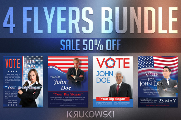 Elections Flyers Bundle