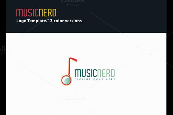 Music Nerd Logo