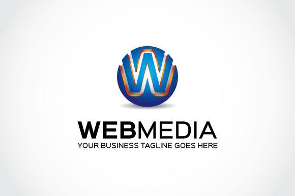 Web Media Logo Template