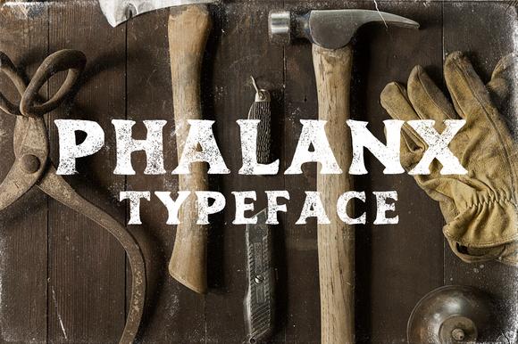 Phalanx Typeface INTRO SALE