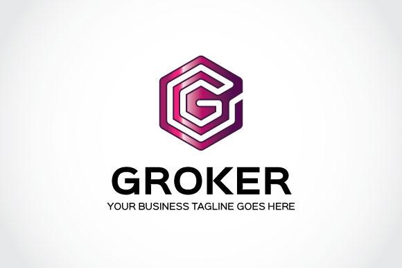 Groker Logo Template