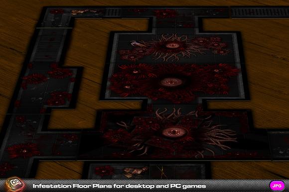 Infestation Floor Plans For Games