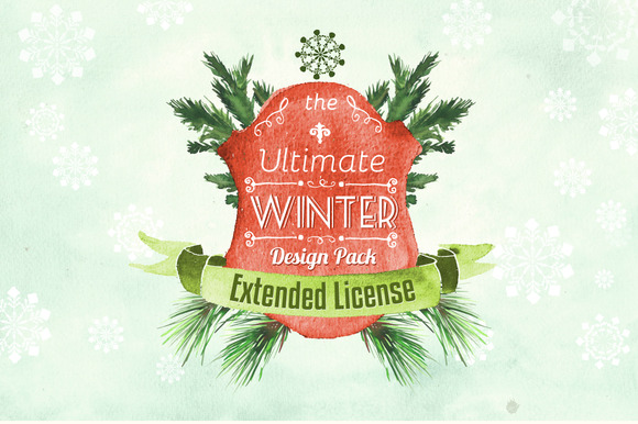 Extended License For Winter Pack