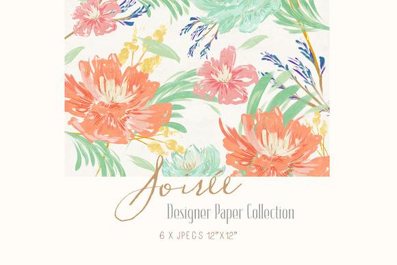 Digital Designer Paper Soiree