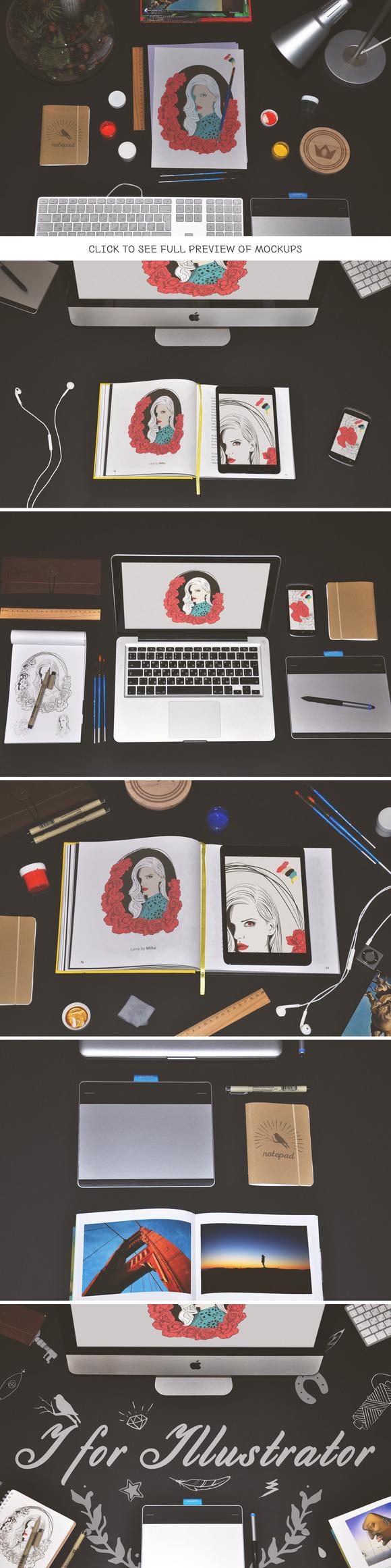 I For Illustrator