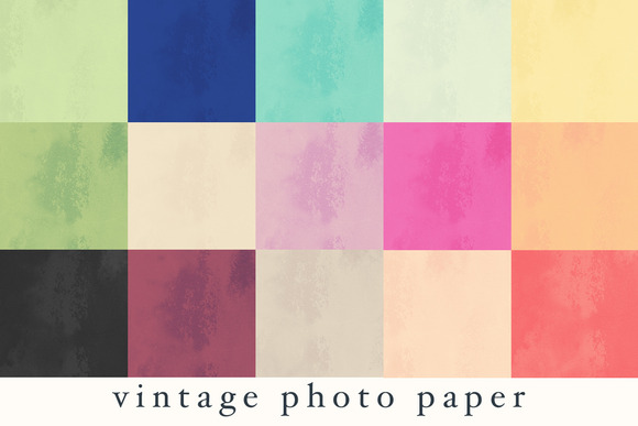Vintage Photo Papers