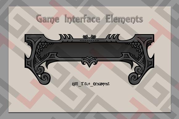 GUI Title Ornament