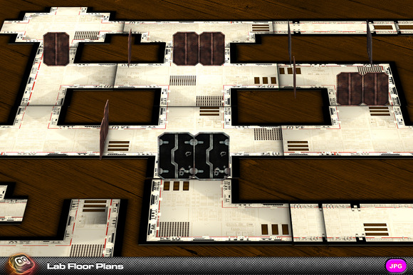 Space Environments Lab Floor Plans