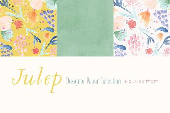 Digital Designer Papers Julep