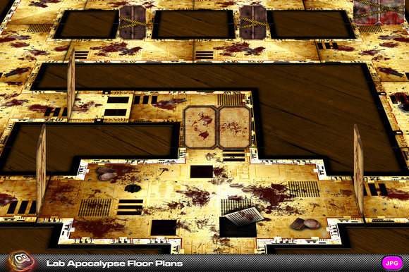 Lab Apocalypse Tile Set