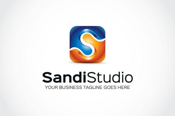Sandi Studio Logo Template