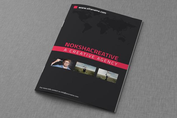 Corporate Bi Fold Brochure