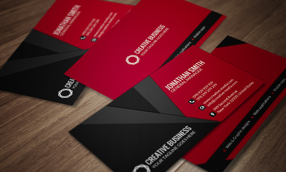 Modern Business Card CM031