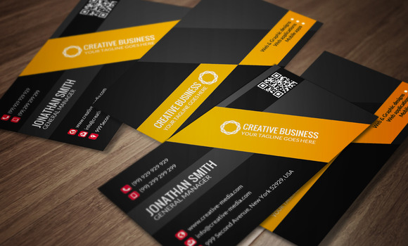 Modern Business Card CM032