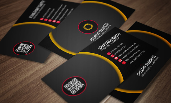 Modern Business Card CM033