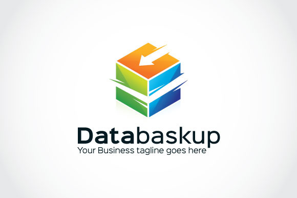 Data Baskup Logo Template