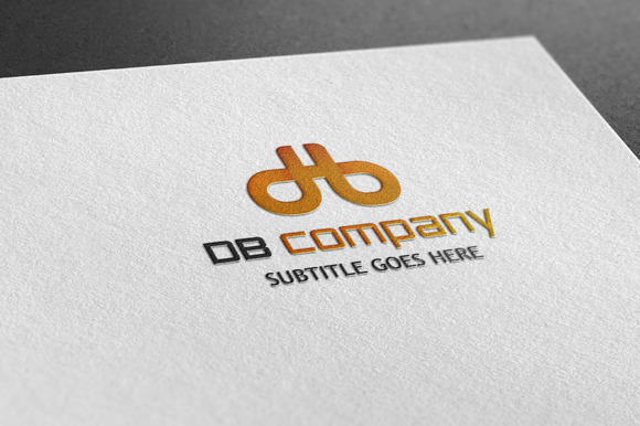 DB Company Style Logo