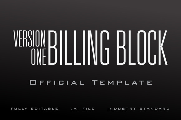 The Billing Block Template