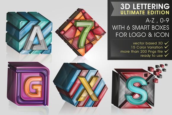 PREMIUM 3D Lettering